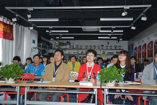 中明科技全体员工共同参加2014年总结大会暨2015年战略布局大会
